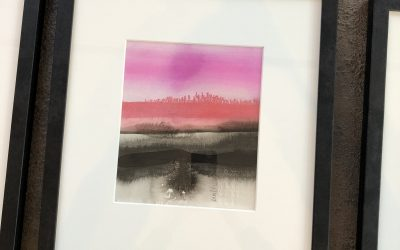 Ink horizons